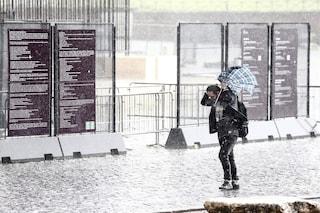 Allerta meteo Roma 22 gennaio: in arrivo temporali, grandinate e forti raffiche di vento