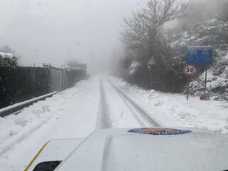 Allerta neve nel Lazio: previsti fiocchi sopra i 600 metri di altitudine