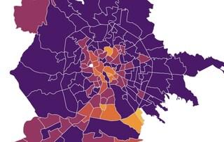 Coronavirus Roma, i dati e la mappa dei contagi quartiere per quartiere aggiornata a gennaio 2021