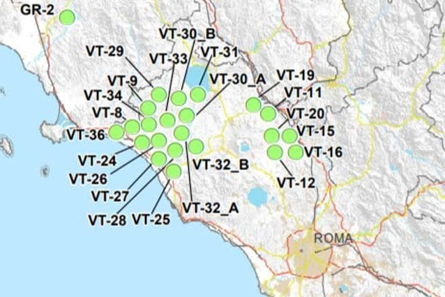 Cartina Geografica Di Viterbo E Provincia.Rifiuti Radioattivi Il Lazio Con Il Numero Piu Alto Di Aree Idonee La Regione Dice No