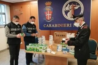 Maxi sequestro di farmaci cinesi illegali: venivano venduti per curare il Covid