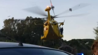 Incidente sul Raccordo, scontro tra tre auto e moto: un ferito grave, traffico in tilt
