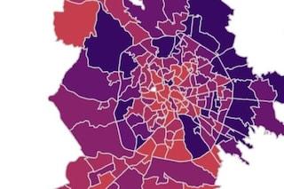 Coronavirus Roma, i dati e la mappa aggiornata dei contagi quartiere per quartiere