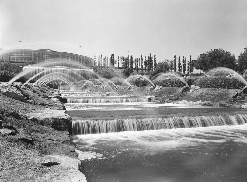 Le cascate nel 1961