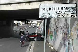 Tor Bella Monaca, spari in strada: ferita un'anziana da un proiettile vagante. Fermato 33enne