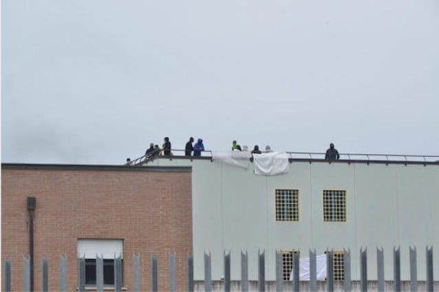 Rivolta nel carcere di Rieti durante la pandemia