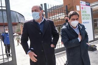 """La strategia del Lazio, vaccini solo per fasce d'età: """"Moratti avrebbe preferito procedere per Pil"""""""