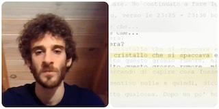 """Vannini, Federico Ciontoli in un video: """"L'arma funzionava male, per quello non ho sentito lo sparo"""""""