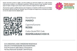 """Covid, la Regione Lazio anticipa tutti: """"Da metà marzo scaricabile il passaporto vaccinale"""""""
