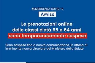 Vaccino coronavirus, nel Lazio sospese prenotazioni AstraZeneca per 65 e 64 anni