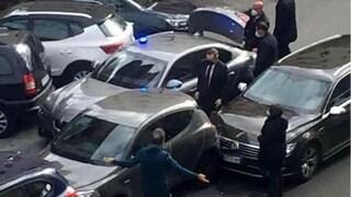 Incidente per Mario Draghi: l'auto del premier coinvolta in un tamponamento