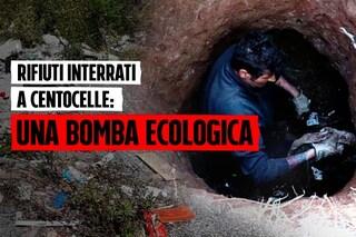 """Una bomba ecologica nel parco di Centocelle: """"Tonnellate di rifiuti sepolte all'ex Casilino 900"""""""