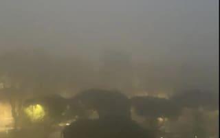 Roma si sveglia avvolta dalla nebbia: temperature e umidità in aumento
