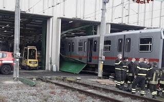 Due operai rimangono incastrati sotto a un treno: uno dei due avrebbe perso un piede