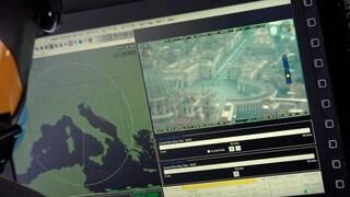 """Pasqua in zona rossa, i controlli in elicottero delle Fiamme Gialle: """"Vigiliamo su assembramenti"""""""