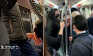 """Caos sui mezzi pubblici a Roma in zona gialla: """"Metro piena, distanziamento impossibile"""""""