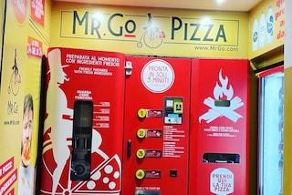 A Roma arriva il distributore automatico di pizza: è pronta in tre minuti