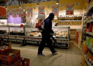 Dai carrelli alle tastiere del pos: trovate sei tracce di Covid nei supermercati di Roma e Lazio