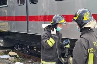 Incendio alla stazione Euclide: treno in fiamme, interrotta la tratta Flaminio-Montebello
