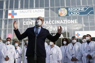"""L'appello della Regione Lazio: """"Più vaccini, dosi Johnson & Johnson di aprile dureranno due giorni"""""""