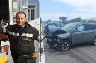 Incidente a Frosinone, scontro frontale tra due auto: Davide muore a 38 anni