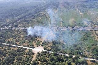 Incendio nella pineta di Castel Fusano a Ostia: nube di fumo manda in tilt il traffico