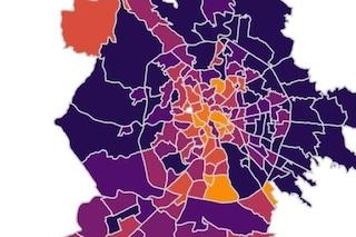 Coronavirus, i dati e la mappa dei contagi in tutti i quartieri di Roma: l'ultimo aggiornamento