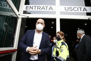 """Nicola Zingaretti si è vaccinato questa mattina: """"Ho fatto AstraZeneca mi sento bene"""""""