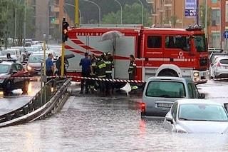 Maltempo a Roma, un altro temporale sulla città: uomo intrappolato in un sottopassaggio allagato