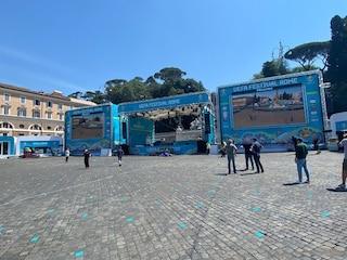 Maxischermi a Roma per gli Europei 2021, dove vedere le partite dell'Italia