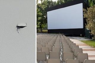 Atto vandalico al CineVillage di Parco Talenti: danneggiati schermo e strumentazioni