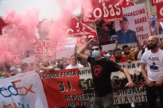 """Roma, manifestazione per Adil: """"Ucciso da camionista, ma veri mandanti sono Confindustria e padroni"""""""