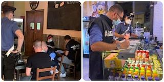 Locali sporchi e lavoratori in nero nei pub di Centocelle: sanzionati i gestori di 5 locali