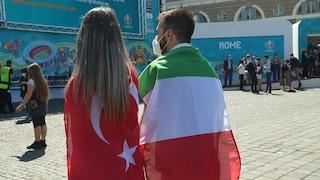 A Roma è tutto pronto per EURO2020: maxi schermi a piazza del Popolo e tifosi scatenati