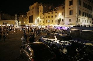 Primo weekend di zona bianca a Roma: arresti e multe nelle zone della movida