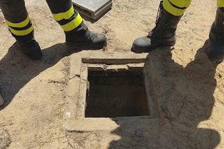Bimbo di tre anni caduto in un pozzo profondo 5 metri: è in prognosi riservata