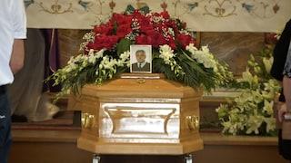 Strage Ardea: il funerale di Salvatore Ranieri, il 'nonno' che ha cercato di salvare i fratellini