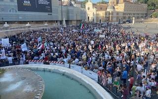 No Green Pass, a Roma si spacca il fronte della protesta: isolata Forza Nuova