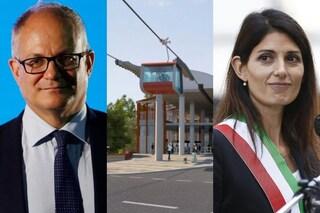 """Elezioni Roma, Gualtieri affossa la funivia promessa da Raggi: """"Se eletto, non la realizzerò"""""""