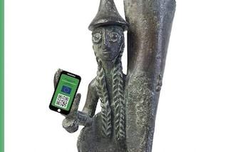 """Insulti al museo di Roma dopo post a favore del Green Pass: """"Gli etruschi lo avrebbero usato"""""""