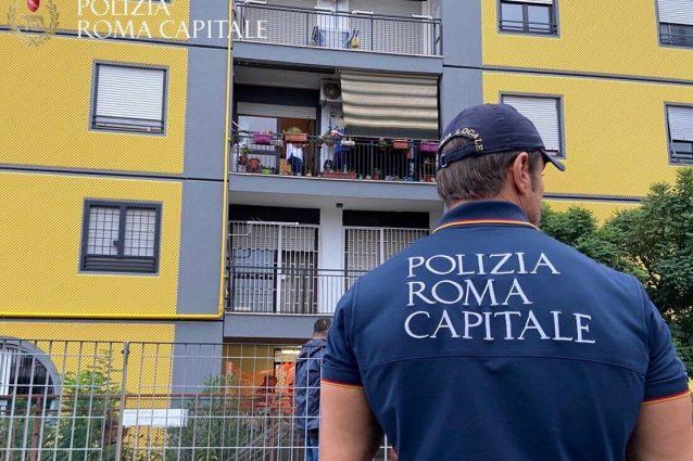 Tor Bella Monaca: sgombero delle case occupate dal clan Moccia alla Torre 50