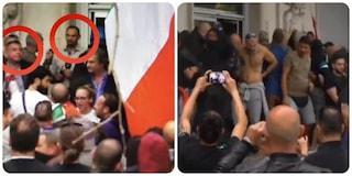 """Assalto alla Cgil, Fiore e Castellino: """"Non c'entriamo con le violenze"""". Ma i video li smentiscono"""