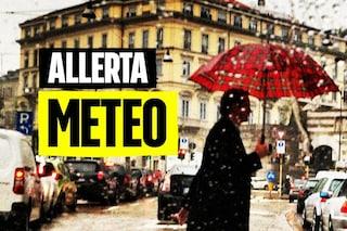 Maltempo, allerta meteo arancione in Lombardia fino a domenica 4 ottobre: frana in Vallecamonica