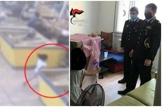Cormano, i carabinieri portano un regalo alla bimba di 5 anni ferita nella rapina al supermercato