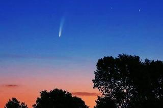 Cometa Neowise: come e quando vederla nei cieli della Lombardia