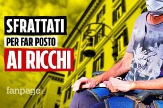 """Milano, incubo sfratto per 600 inquilini di via Tolstoj: """"Ho 84 anni, dove andrò a vivere?"""""""