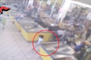 Rapina con sparatoria a Cormano, in un video il momento in cui la bambina viene ferita