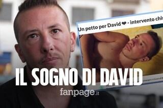"""David chiede aiuto per realizzare il suo sogno: """"Raccolgo fondi per rimuovere il seno"""""""