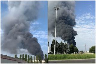 """Incendio a Cremona, l'assessore all'Ambiente: """"Rogo domato, nessuna dispersione nociva in aria"""""""