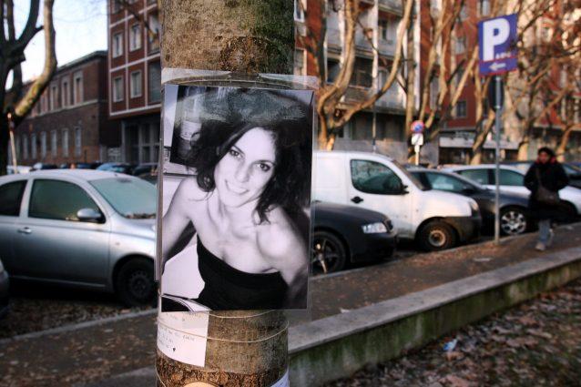 Il luogo del ritrovamento del corpo senza vita di Carlotta Benusiglio a Milano, in piazza Napoli